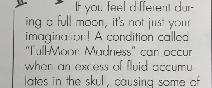 Do You Feel Different During a Full Moon?